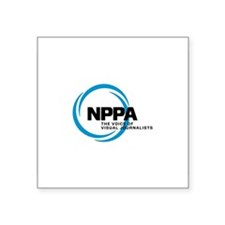 "NPPA Logo Square Sticker 3"" x 3"""