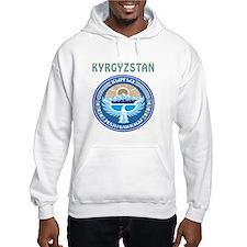 Kyrgyzstan Coat of arms Hoodie
