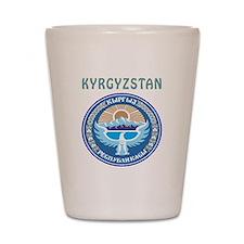 Kyrgyzstan Coat of arms Shot Glass