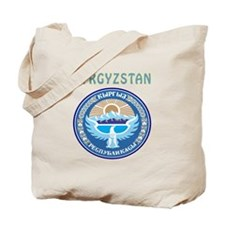 Kyrgyzstan Coat of arms Tote Bag