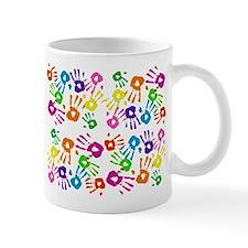 handprint pattern.png Mug