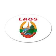 Laos Coat of arms Wall Decal