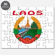 Laos Coat of arms Puzzle