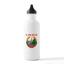 Laos Coat of arms Water Bottle