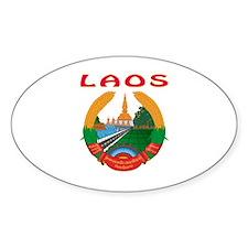 Laos Coat of arms Decal