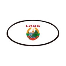 Laos Coat of arms Patches