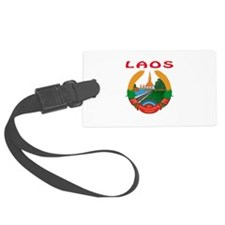 Laos Coat of arms Luggage Tag