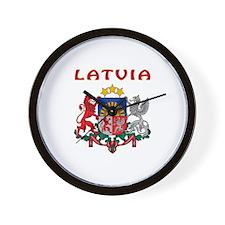 Latvia Coat of arms Wall Clock