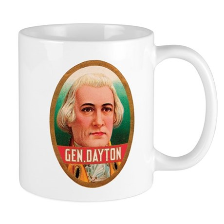 General Dayton Tobacco Label Mug