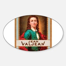 Jean Valjean Tobacco Label Decal
