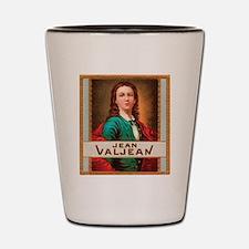 Jean Valjean Tobacco Label Shot Glass