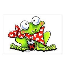 Blushing Frog Postcards (Package of 8)