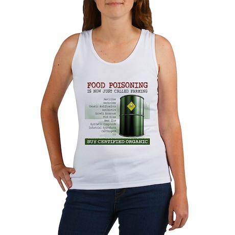 Buy Organic square white bg Women's Tank Top