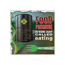 Buy Organic full color square transparent border S