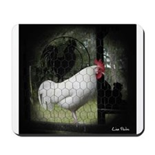 Rooster Trio Mousepad