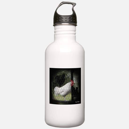 Rooster Trio Water Bottle