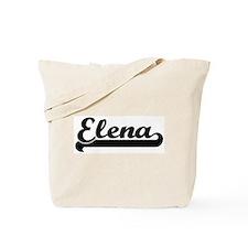Black jersey: Elena Tote Bag