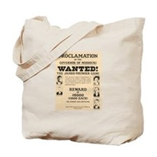 James Younger Gang Wanted Tote Bag