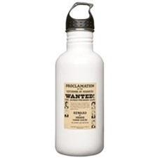 James Younger Gang Wanted Water Bottle