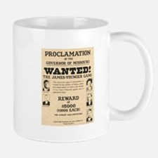 James Younger Gang Wanted Mug