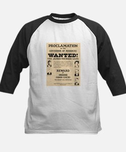 James Younger Gang Wanted Tee