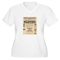 James Younger Gang Wanted T-Shirt