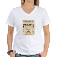 James Younger Gang Wanted Shirt