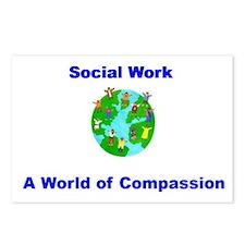 Unique Compassion Postcards (Package of 8)