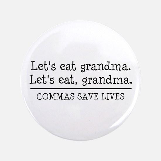 "Cute Grandma 3.5"" Button"