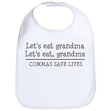 Cute Let's eat grandma Bib