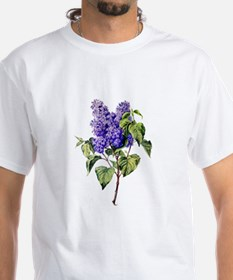 Lilac Drawn From Nature Shirt