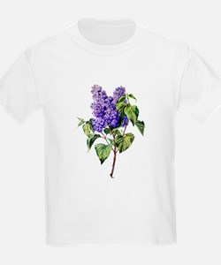 Lilac Drawn From Nature T-Shirt