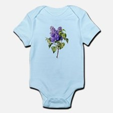 Lilac Drawn From Nature Infant Bodysuit