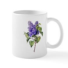 Lilac Drawn From Nature Mug
