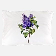 Lilac Drawn From Nature Pillow Case