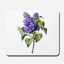 Lilac Drawn From Nature Mousepad