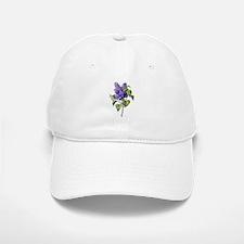 Lilac Drawn From Nature Baseball Baseball Cap