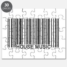 House Music Barcode Puzzle