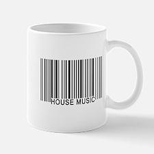 House Music Barcode Mug