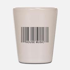 House Music Barcode Shot Glass