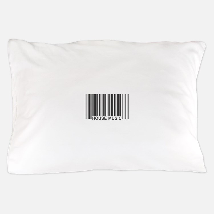 House Music Barcode Pillow Case
