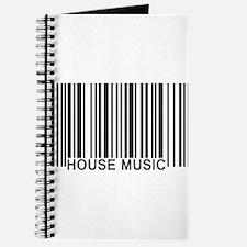 House Music Barcode Journal