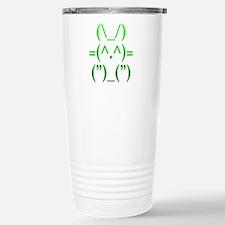 Ascii Rabbit Stainless Steel Travel Mug