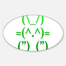 Ascii Rabbit Decal