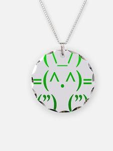 Ascii Rabbit Necklace