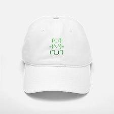 Ascii Rabbit Baseball Baseball Cap