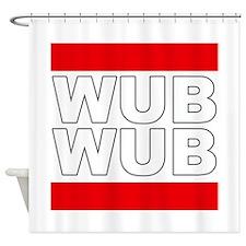 Wub Wub Shower Curtain