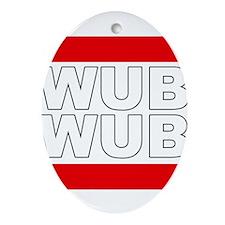 Wub Wub Ornament (Oval)