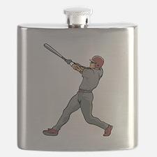 Left Handed Batter Flask