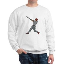 Left Handed Batter Sweatshirt